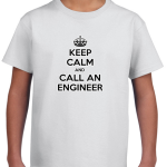 Keep-Calm-and-Call-an-Engineer-Kids-T-Shirt-300x300