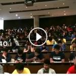 Dersime giren öğrencilerimden beklediğim performans :)